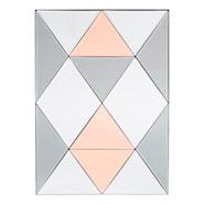 Rhomb Spegel 50x70 cm