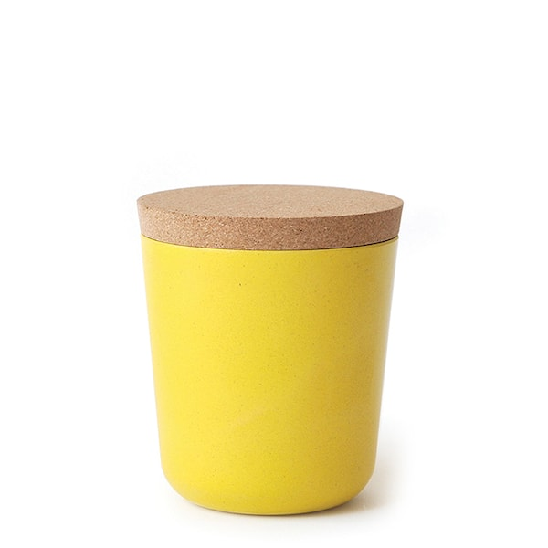 Gusto Burk Bambu med lock 11 cm