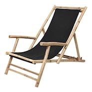 Relax Stol Bambu/Svart