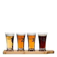Bar Ölprovarset 4 glas