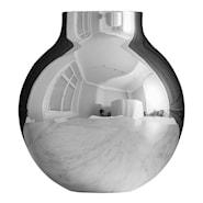 Boule Vas stor Silver
