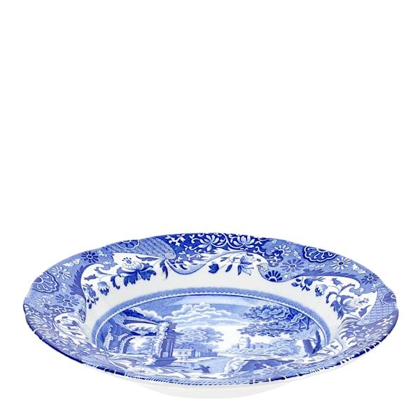 Blue Italian Tallrik djup 23 cm