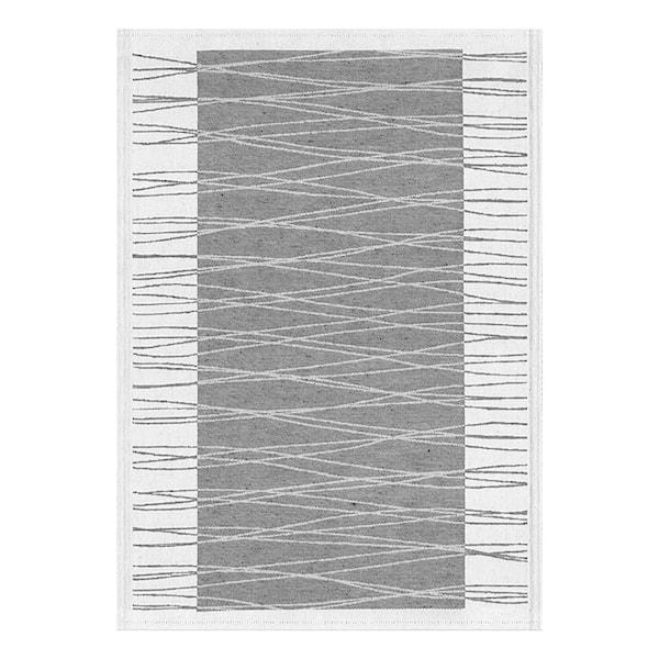 Aubree Handduk Grå streck 35x50 cm