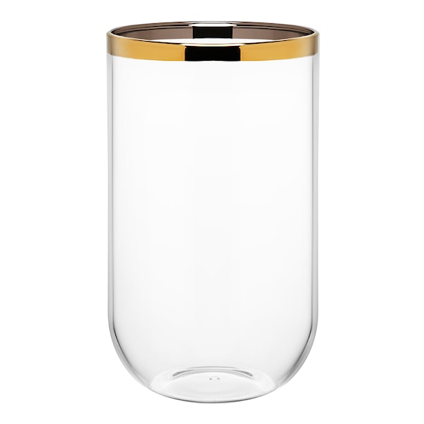 Celebration Vas Cylinder guldkant 20 cm