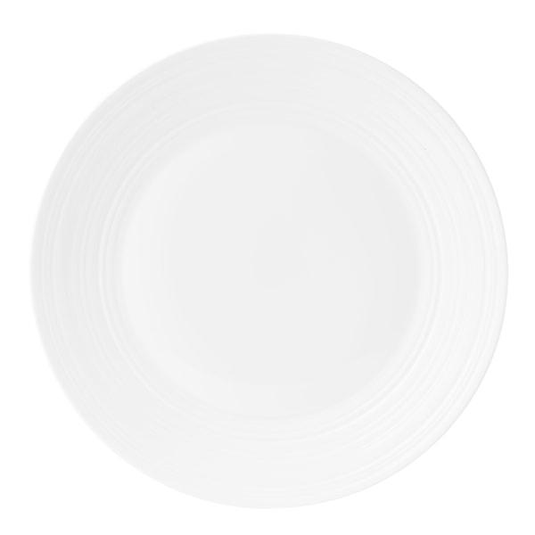 Jasper Conran Strata White Tallrik flat 27 cm