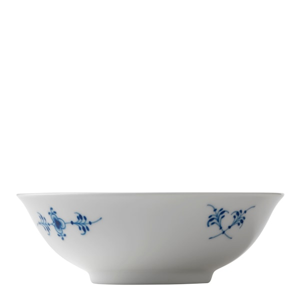 Blue Fluted Plain Skål 35 cl 16 cm