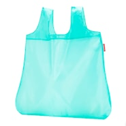 Mini Maxi Shopper Kasse med fodral Aqua 15 L