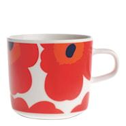 Unikko Kaffemugg 20 cl Röd