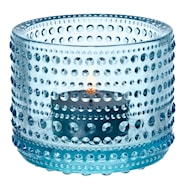 Kastehelmi Ljuslykta Ljusblå 6,4 cm