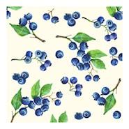 Servett Blueberries 24x24 cm