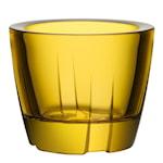 Bruk Ljuslykta Bright yellow 6 cm