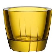 Bruk Ljuslykta 6 cm Bright yellow
