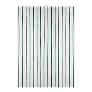 Signerat Handduk Grön randig 50x70 cm