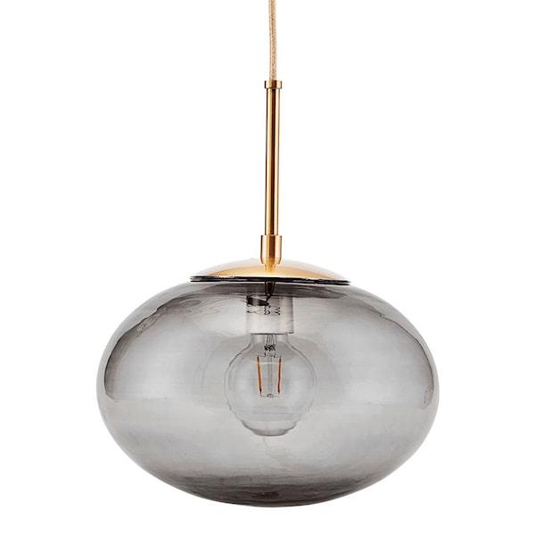 Opal Taklampa Grå/Mässing 30 cm