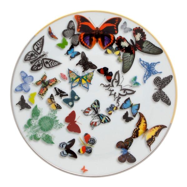 Butterfly Parade Tallrik flat 19,8 cm
