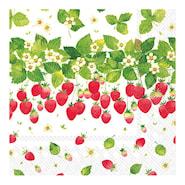 Servett Strawberry Season 24x24 cm