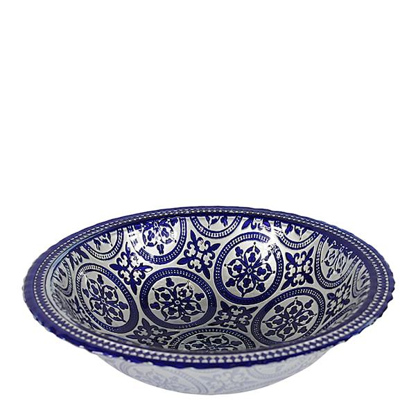 Marrakesh Skål 41 cm Blå