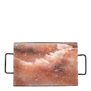 Himalaya Saltstein 30x20x3 cm inkludert stativ