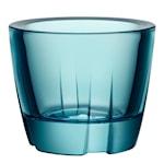 Bruk Ljuslykta Turquoise 6 cm
