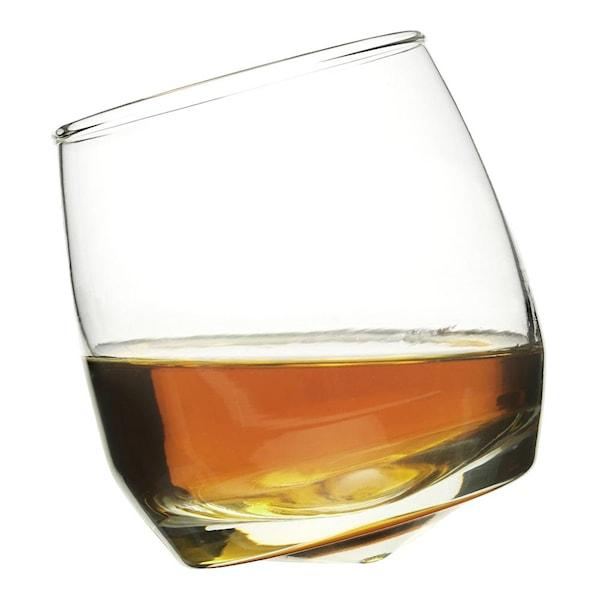 Bar Whiskyglas med rundad botten 6-pack