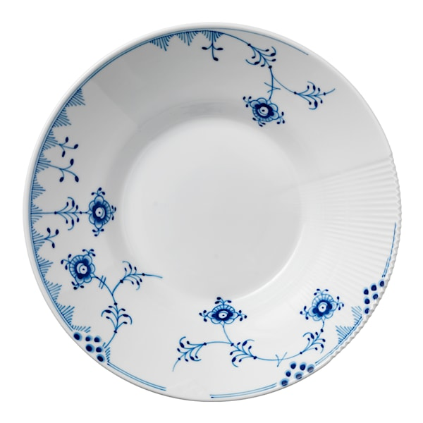 Blue Elements Tallrik djup 24,5 cm