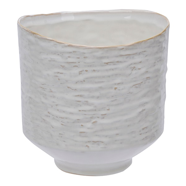 Adele Kruka Vit Keramik 16 cm