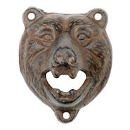 Flasköppnare björnhuvud