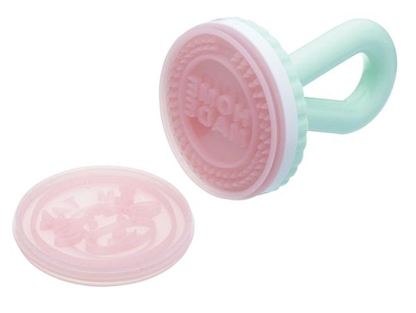 Kakstämpel i plast/silikon 4-pack