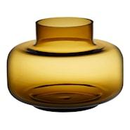 Urna Vase/urne 21 cm Gul