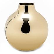 Boule Vas mini Polerad Mässing 13x14 cm