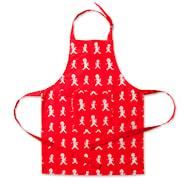 Förkläde Barn Röd