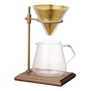 Slow Coffee Bryggset för 4 koppar med ställning