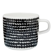 Siirtolapuutatha Kaffekopp 20 cl Svart prikker