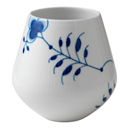 Blue Fluted Mega Vas 15 cm
