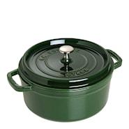 Gryta 3,8 L rund Grön