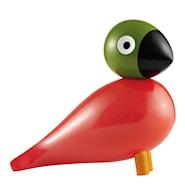 Sångfågel Pop Målad bok Röd