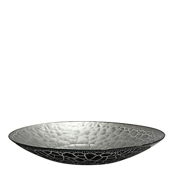 Croco Fat Svart/Silver 39 cm