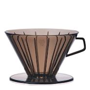 Slow Coffee Filterholder 4 kopper plast