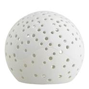 Nobili Ljuslykta snöboll 12 cm Vit