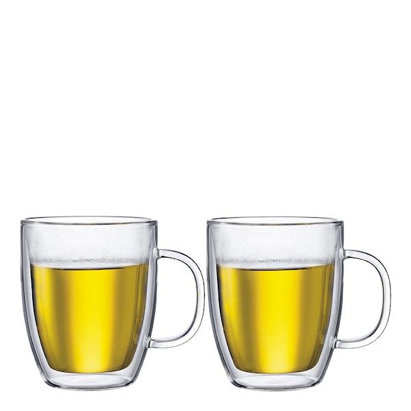 Bistro Glasmugg med handtag 45 cl 2-pack