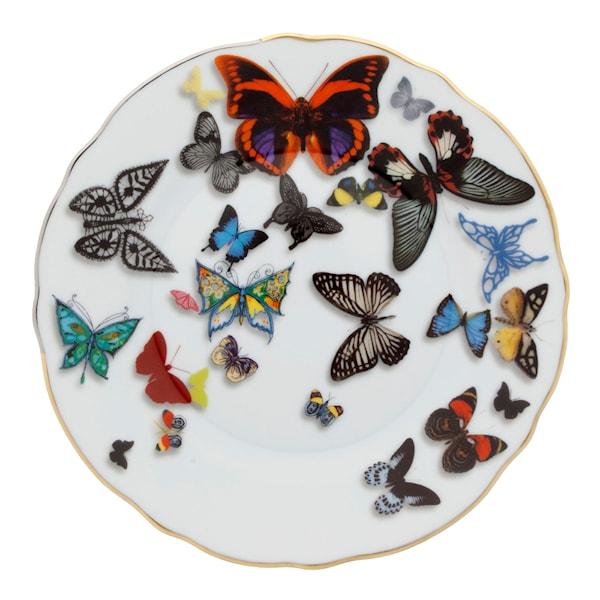 Butterfly Parade Tallrik flat 16,9cm