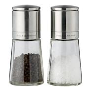 Clifton Salt/pepperkvern-sett Glass 14,5 cm