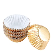 Candy cups-form folie 75-pack Guld