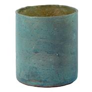 Lennox Värmeljushållare Glas Turkos 9 cm