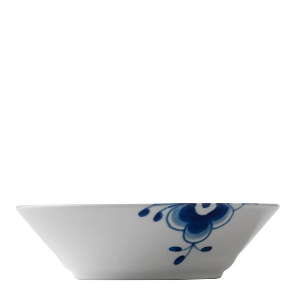 Blue Fluted Mega Tallrik djup 50 cl