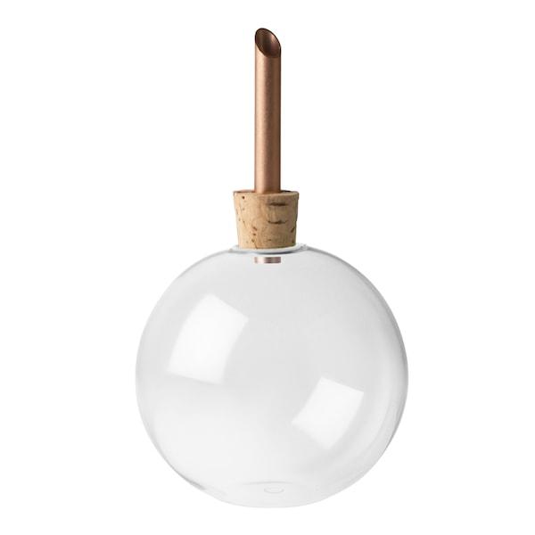 Glasilium Vas 6,5 cm Klar glas