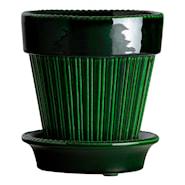 Simona Kruka/fat Grön emerald 16 cm