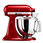 Artisan Kjøkkenmaskin 4,8 L Rødt metallic
