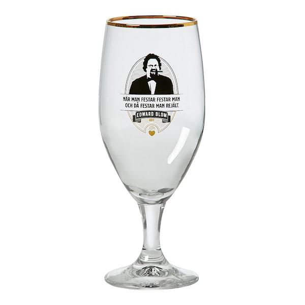 Edward Blom Collection Ölglas No: 1 När man festar 41 cl