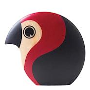 Discus 1961 Lunnefågel 21 cm Röd